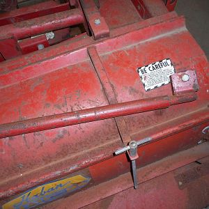 Haban Model 512 Flail Mower  Fit's 140,120,300's (16)