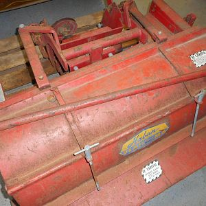 Haban Model 512 Flail Mower  Fit's 140,120,300's (18)
