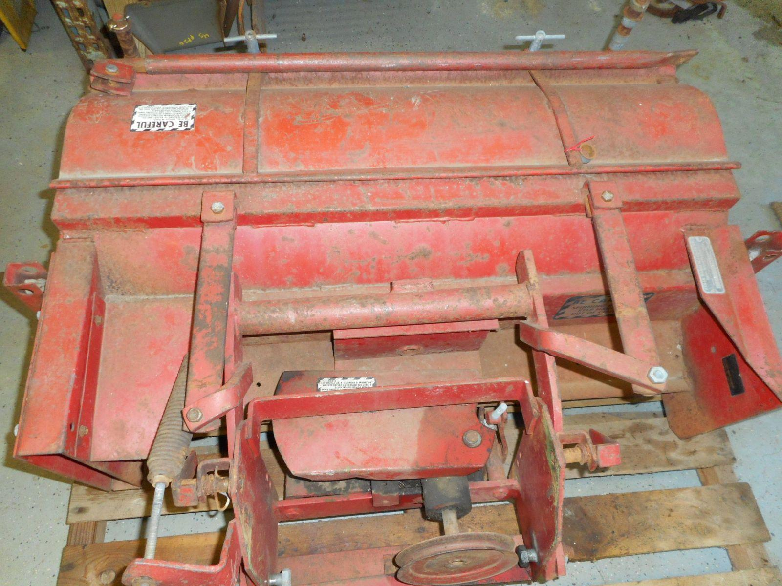 Haban Model 512 Flail Mower Fit's 140,120,300's (1) | JD