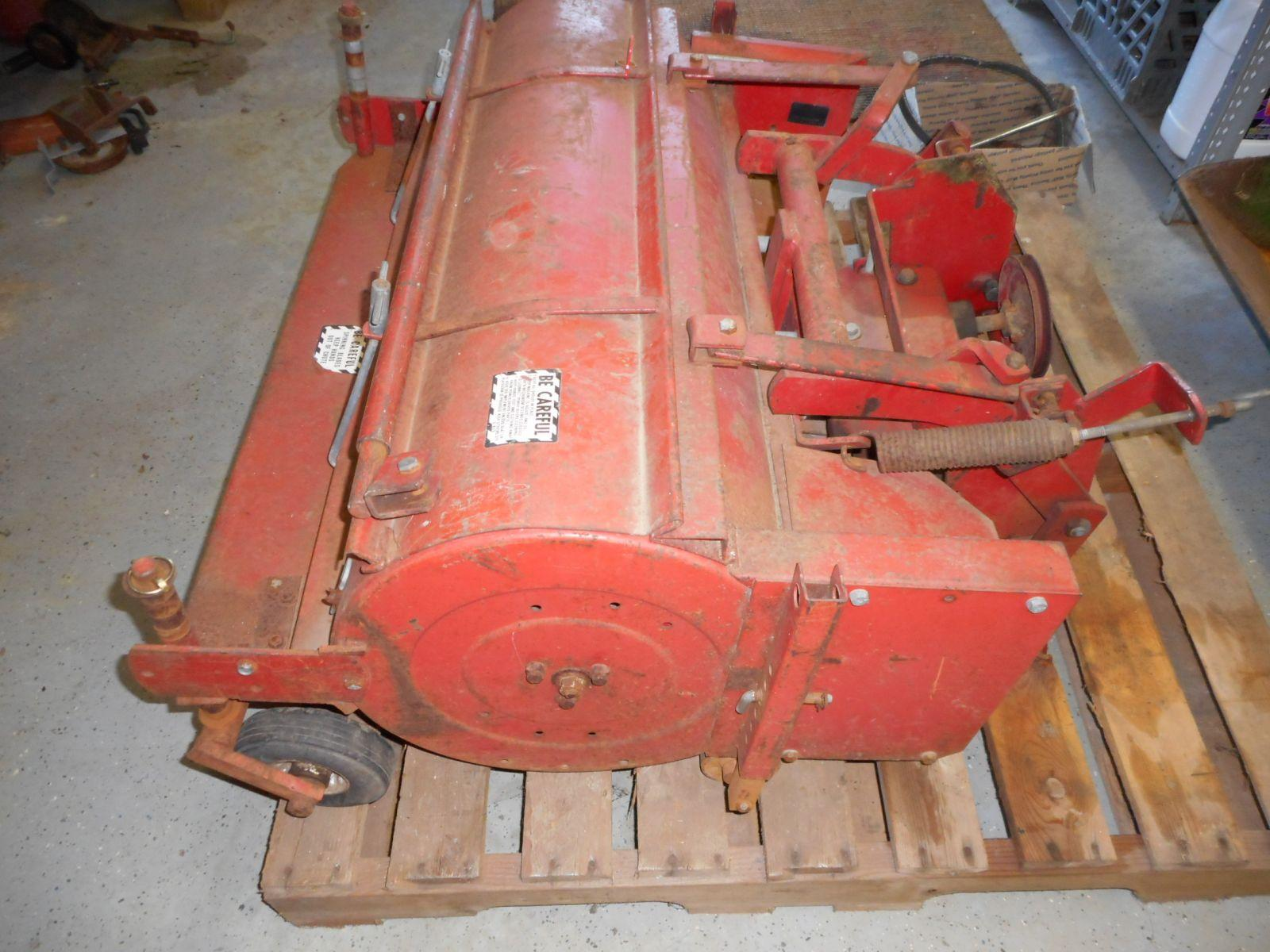 Haban Model 512 Flail Mower Fit's 140,120,300's (2) | JD